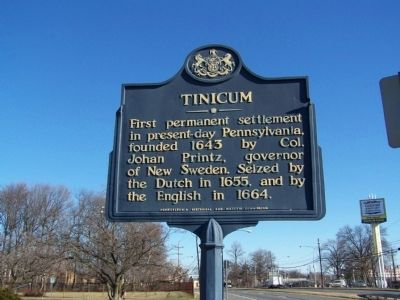 Tinicum Marker image. Click for full size.