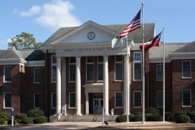 Bryan County Courthouse image. Click for full size.