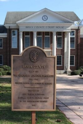 Bryan County Marker image. Click for full size.
