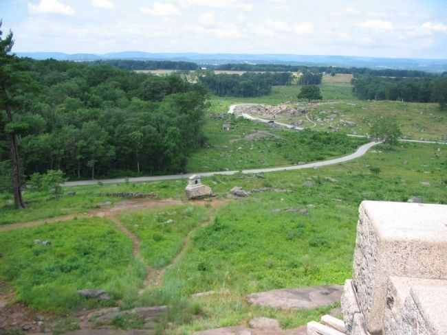 South-West Side of Little Round Top image. Click for full size.