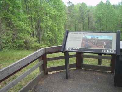 Marker at Chickahominy Bluff image. Click for full size.