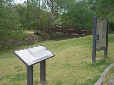 Marker at Beaver Dam Creek image. Click for full size.