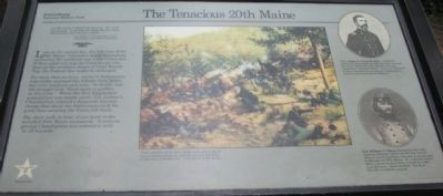 The Tenacious 20th Maine Marker image. Click for full size.