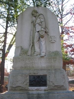 9th Pennsylvania Reserves Monument image. Click for full size.