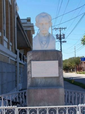 José Martí Monument, located on the corner of 14th Avenue and 10th Street image. Click for full size.