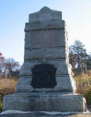 Michigan Sharpshooters Monument image. Click for full size.