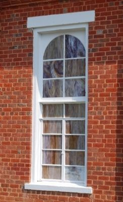 Big Creek Baptist Church -<br>Side Window Detail image. Click for full size.