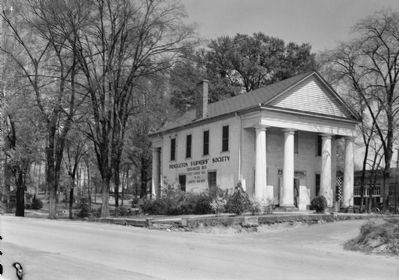 Farmers Hall as Post Office image. Click for full size.