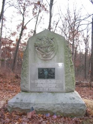 18th Pennsylvania Calvary Monument image. Click for full size.