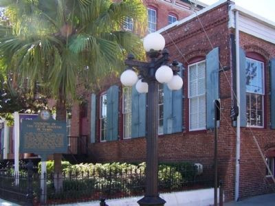Founding of the Cigar Industry In Tampa Marker At Ybor Square Marketplace image. Click for full size.