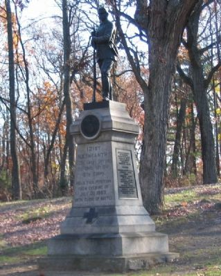 121st New York Infantry Monument image. Click for full size.