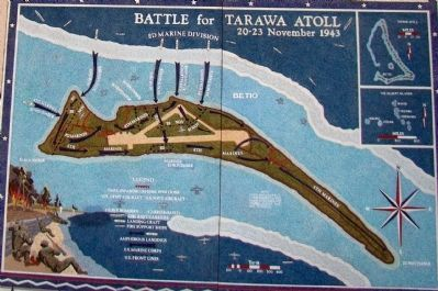 Battle for Tarawa Atoll, 20–23 November 1943 image. Click for full size.