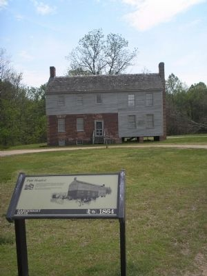Marker at Cold Harbor image. Click for full size.