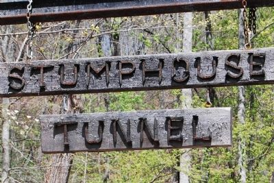 Stumphouse Mountain Tunnel Sign image. Click for full size.