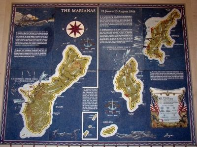 The Marianas, 15 June – 10 August 1944 image. Click for full size.