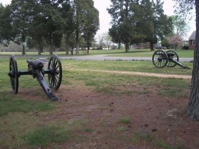 Confederate Artillery at Cold Harbor image. Click for full size.