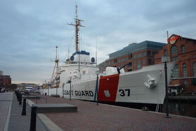 The Coast Guard Cutter <i>Taney</i> image. Click for full size.