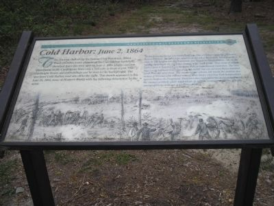Cold Harbor: June 2, 1864 Marker image. Click for full size.