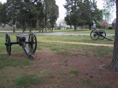 Confederate Artillery on the Cold Harbor Battlefield image. Click for full size.