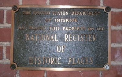 The Dearborn Inn is listed in the National Register of Historic Places image. Click for full size.