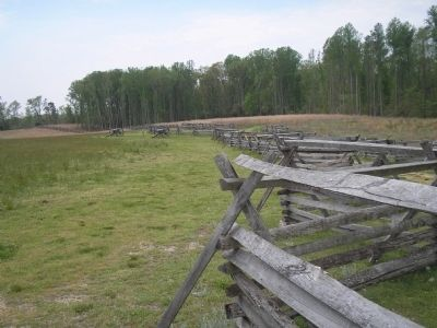 Gaines's Mill Battlefield image. Click for full size.