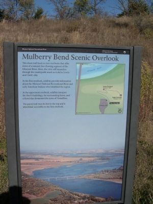 Mulberry Bend Scenic Overlook Marker image. Click for full size.
