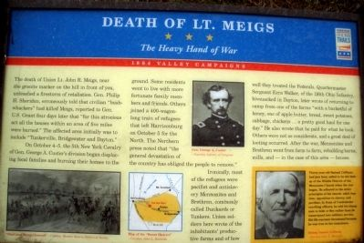 Death Of Lt. Meigs image. Click for full size.
