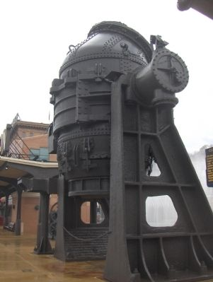 The Bessemer Converter Bucket image. Click for full size.