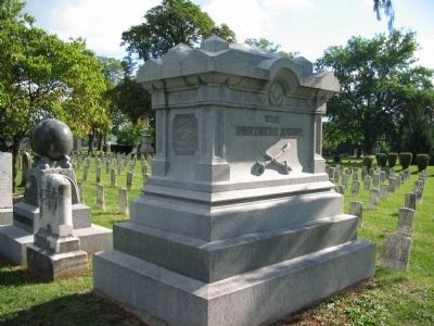 Ashby's Grave image. Click for full size.