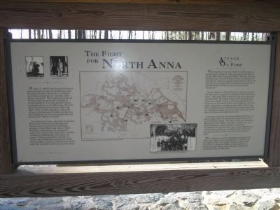 The Fight for North Anna Marker image. Click for full size.