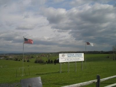 Cedar Creek Battlefield image. Click for full size.