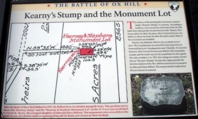 Kearny's Stump and the Monument Lot Marker image. Click for full size.