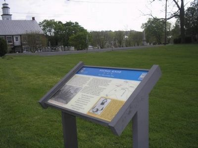 Marker at the Strasburg Presbyterian Church image. Click for full size.