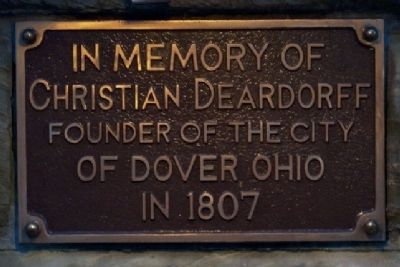 Christian Deardorff Marker image. Click for full size.