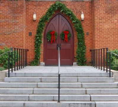 Christ Church (Episcopal) -<br>South Tower Steps image. Click for full size.