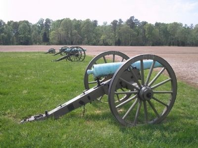 Artillery on Malvern Hill image. Click for full size.