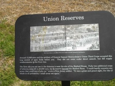 Union Reserves Marker image. Click for full size.