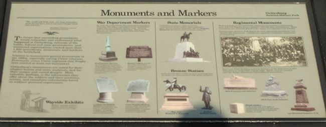 Monuments and Markers Marker image. Click for full size.