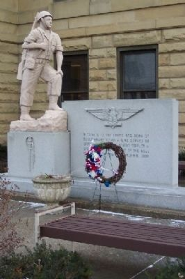 Tuscarawas County World War II and Korean Conflict Memorial image. Click for full size.