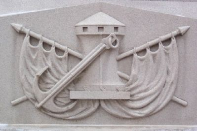 Tuscarawas County Civil War Memorial Naval Motif image. Click for full size.