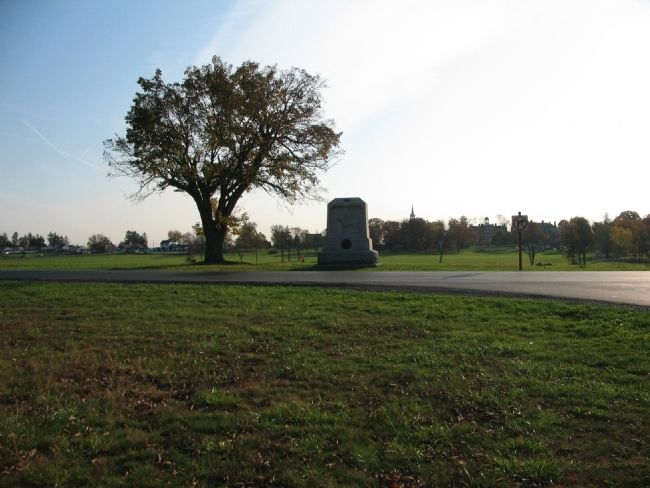 8th New York Cavalry Monument on Reynolds Avenue image. Click for full size.