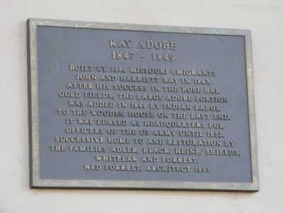 Ray Adobe Marker image. Click for full size.