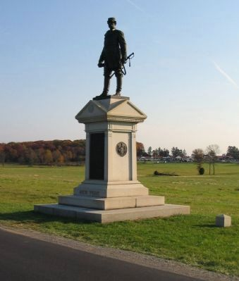 Abner Doubleday Monument image. Click for full size.