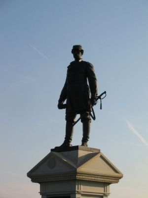 Close Up of the Doubleday Statue image. Click for full size.