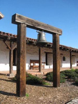 San Francisco Solano Mission Bell image. Click for full size.