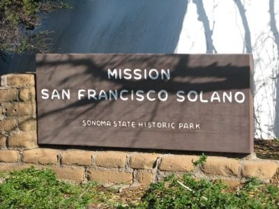 Mission San Francisco Solano image. Click for full size.