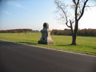 80th New York Infantry Monument along Reynolds Avenue image. Click for full size.