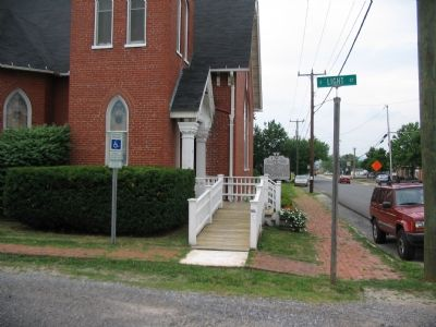 St. James United Church of Christ Marker image. Click for full size.