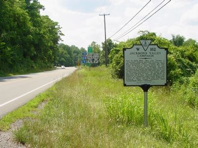 Jackson's Valley Campaign Marker image. Click for full size.