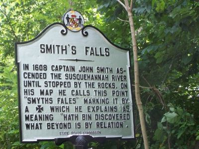 Smith's Falls Marker image. Click for full size.